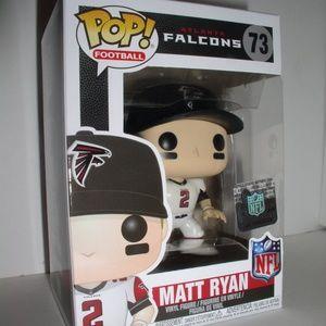 Funko Pop Football-Falcons-Matt Ryan-White (#73)